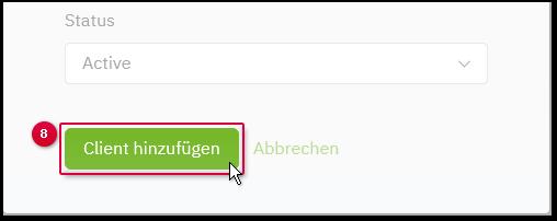 Client hinzufuegen