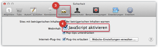JavaScript aktivieren