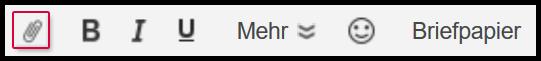 Klicken Sie auf das Büroklammer-Symbol
