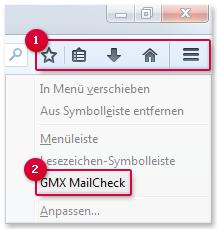 MailCheck ein-/ausblenden
