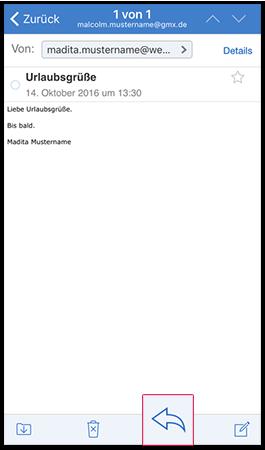 E-Mail weiterleiten