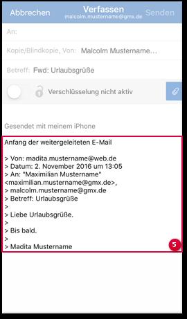 E-Mail verfassen