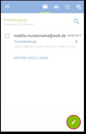 Mail schreiben