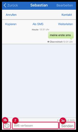 SMS beantworten