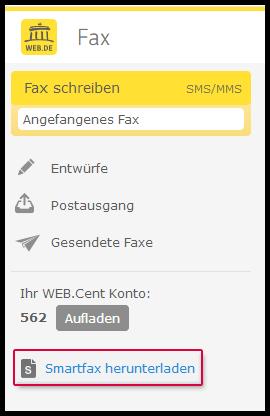 Fax-Applikation installieren