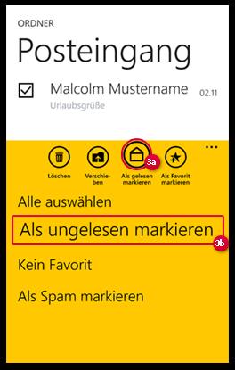 E-Mail als gelesen markieren