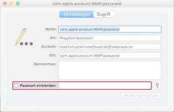 Passwörter einsehen