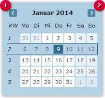 Datum auswählen