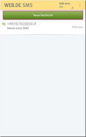 SMS schreiben