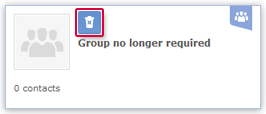 Deleting a Group