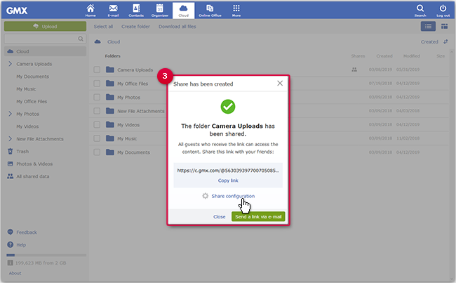 Sharing a Folder