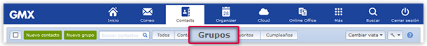 """Groups"" View"