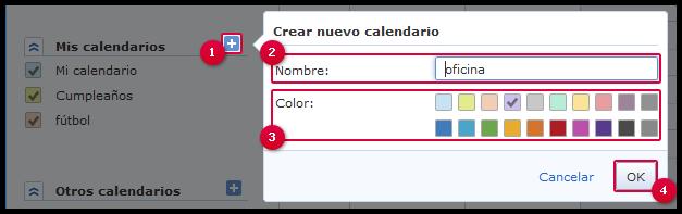 Añadir calendario
