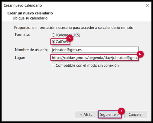 Configuración de la sincronización con Mozilla Thunderbird