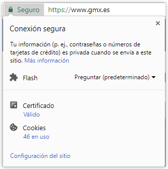 Certificado de Chrome