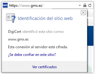 Certificado de Internet Explorer