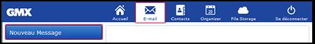 Rédaction d'un e-mail