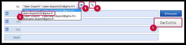 Comment empêcher que votre nom soit envoyé avec un e-mail