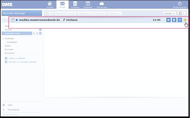 Comment marquer un e-mail comme «Favori»