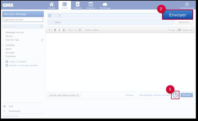 Programmer l'envoi d'un e-mail