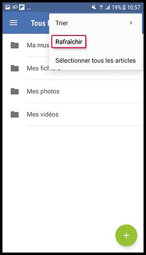 Refresh Folder