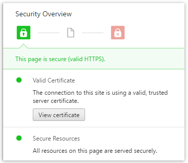 Certificat Chrome