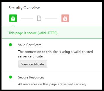 Certificat Chrome
