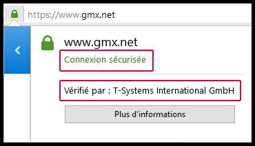 Certificat Firefox