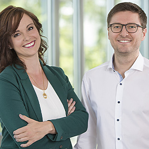 Andrea Pfundmeier und Robert Freudenreich, Secomba GmbH