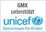 GMX unterstützt unicef