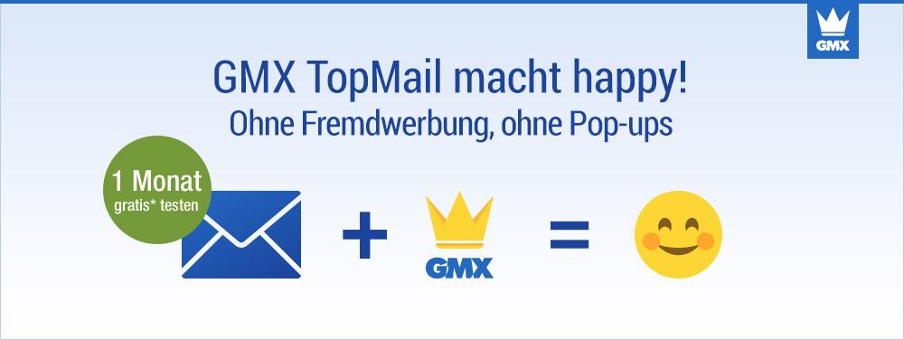 GMX TopMail macht happy!