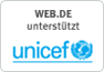 WEB.DE unterst�tzt UNICEF